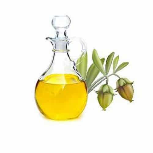 Jojoba olie en Amandelolie
